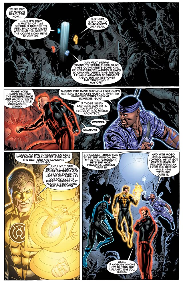 click for super-sized previews of Green Lantern: Emerald Warriors #9