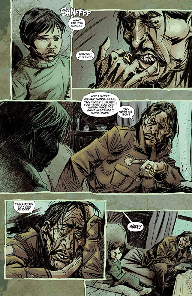 click for super-sized previews of Scalped #19