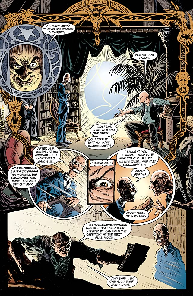 click for super-sized previews of The Sandman #1