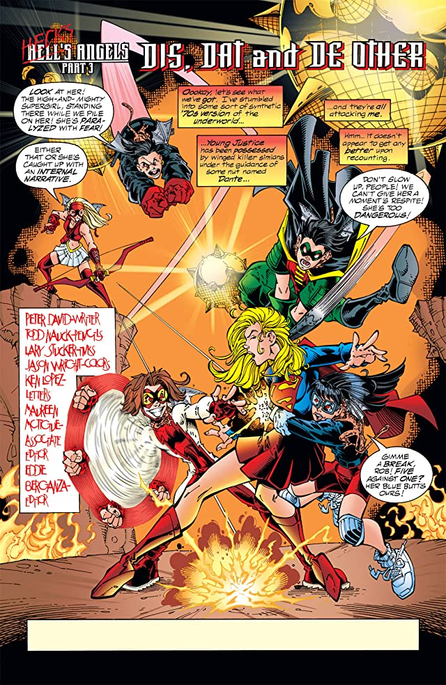 click for super-sized previews of Young Justice (1998-2003) #13
