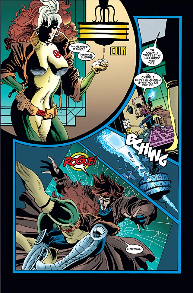 click for super-sized previews of Wolverine/Gambit #1