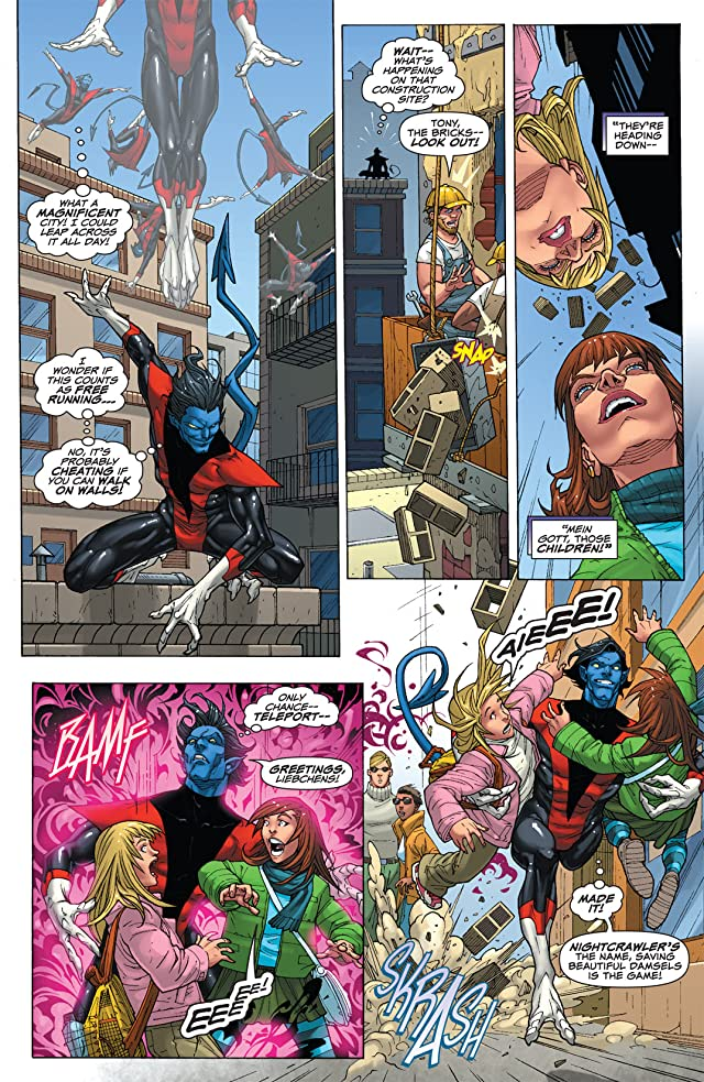 click for super-sized previews of Uncanny X-Men: First Class #1