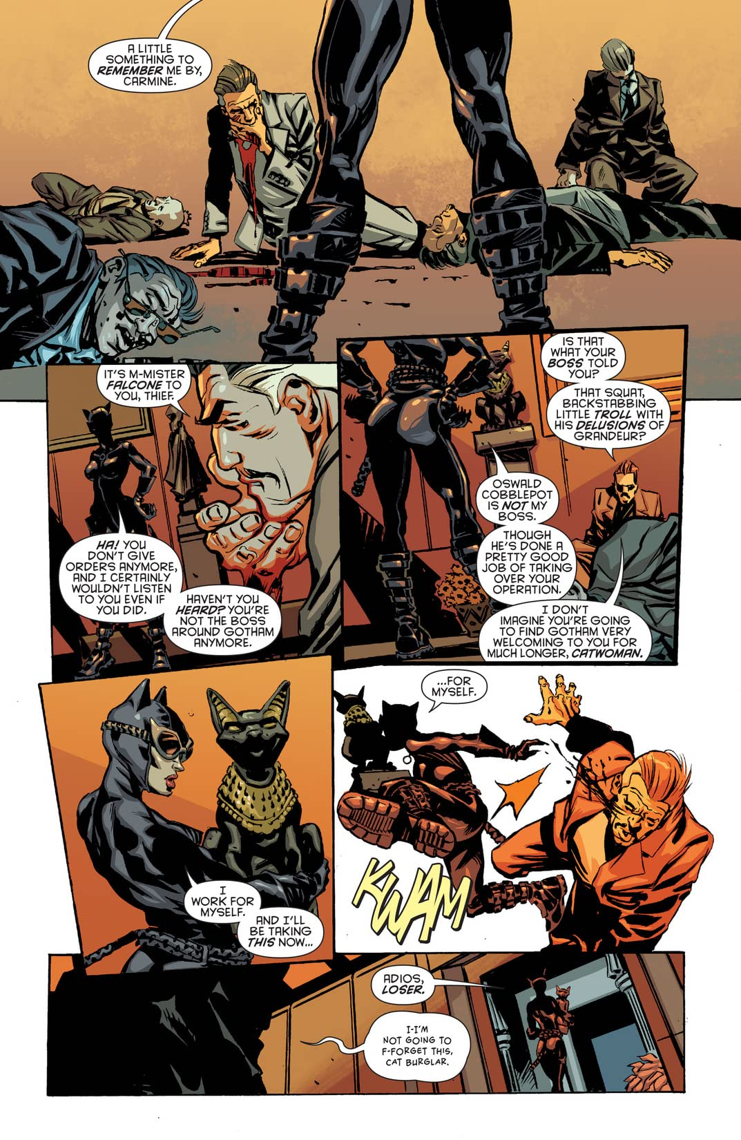 Batman Eternal (2014-2015) #10