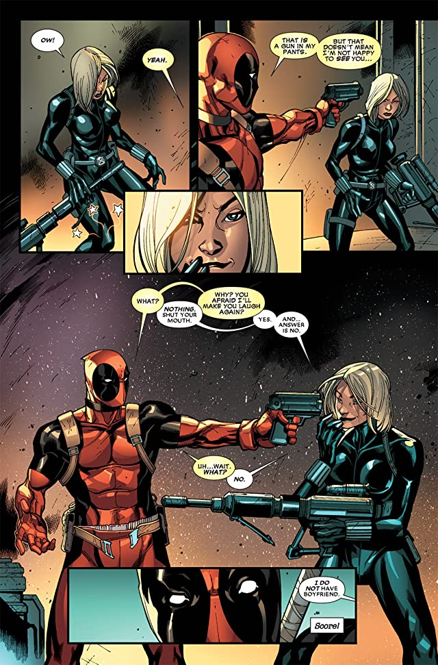 click for super-sized previews of Deadpool (2008-2012) #9