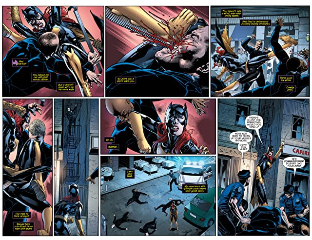click for super-sized previews of Batgirl (2011-) #32