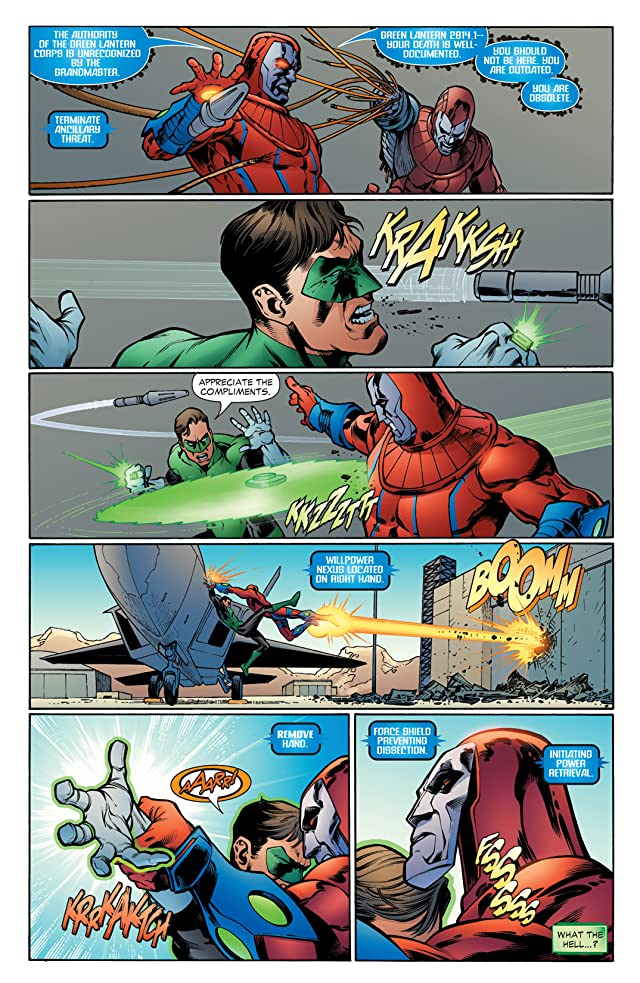 click for super-sized previews of Green Lantern (2005-2011) #3