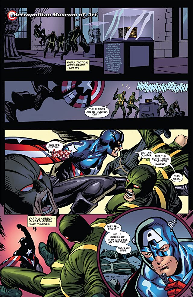 click for super-sized previews of Captain America: Hail Hydra #5