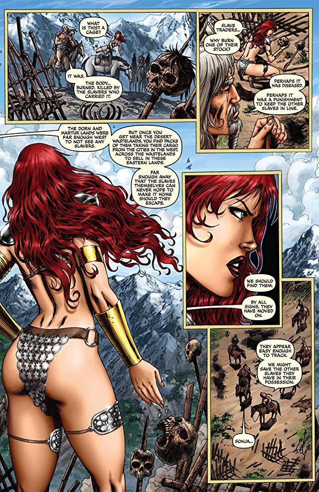 click for super-sized previews of Red Sonja: She-Devil With a Sword #47