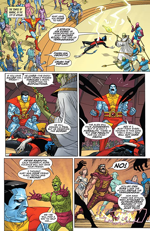 click for super-sized previews of Uncanny X-Men: First Class #2