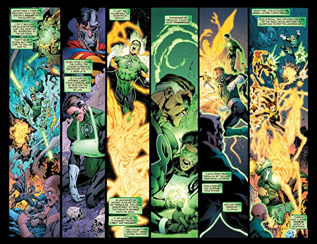 click for super-sized previews of Green Lantern (2005-2011) #21