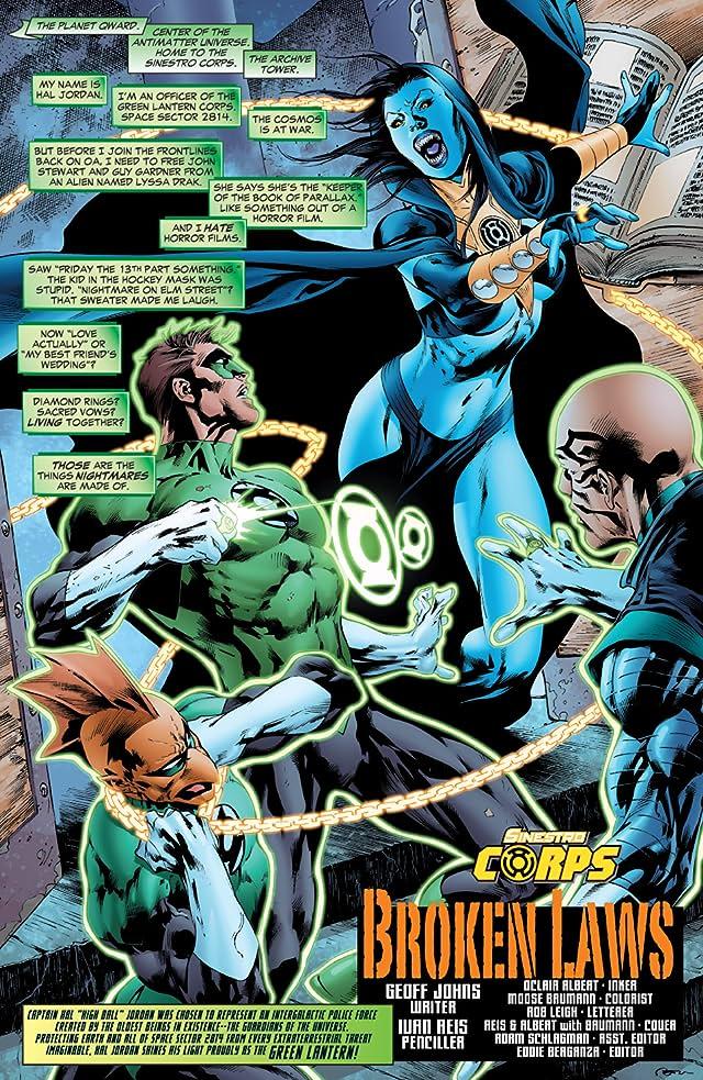 Green Lantern (2005-2011) #23
