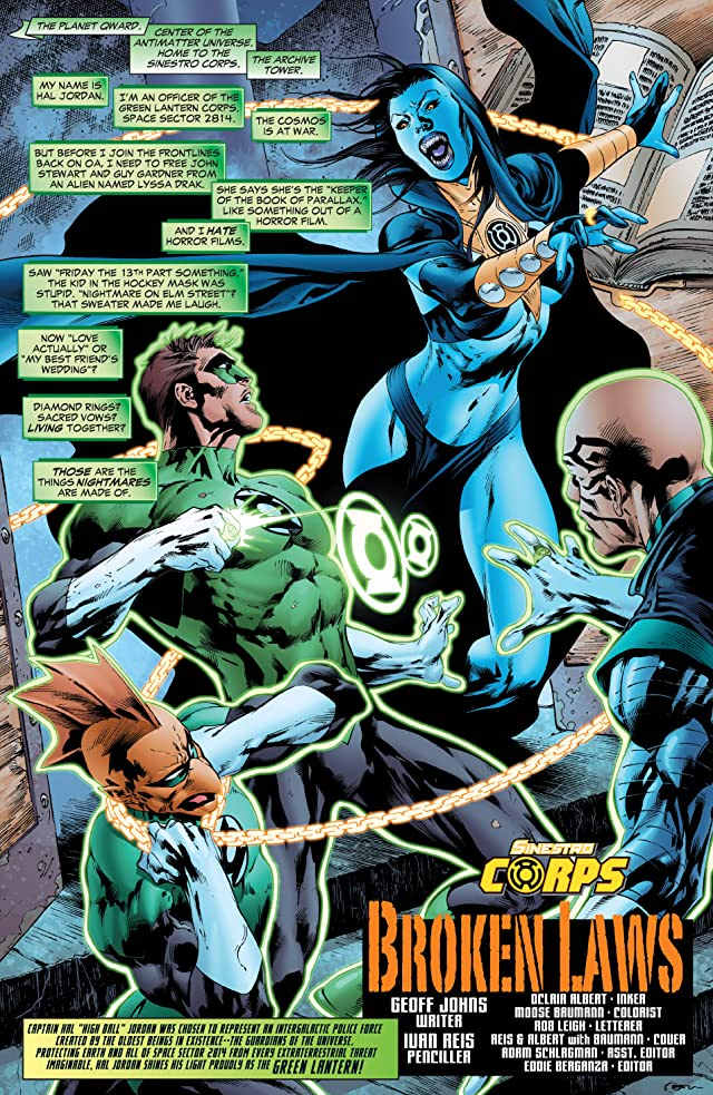 click for super-sized previews of Green Lantern (2005-2011) #23