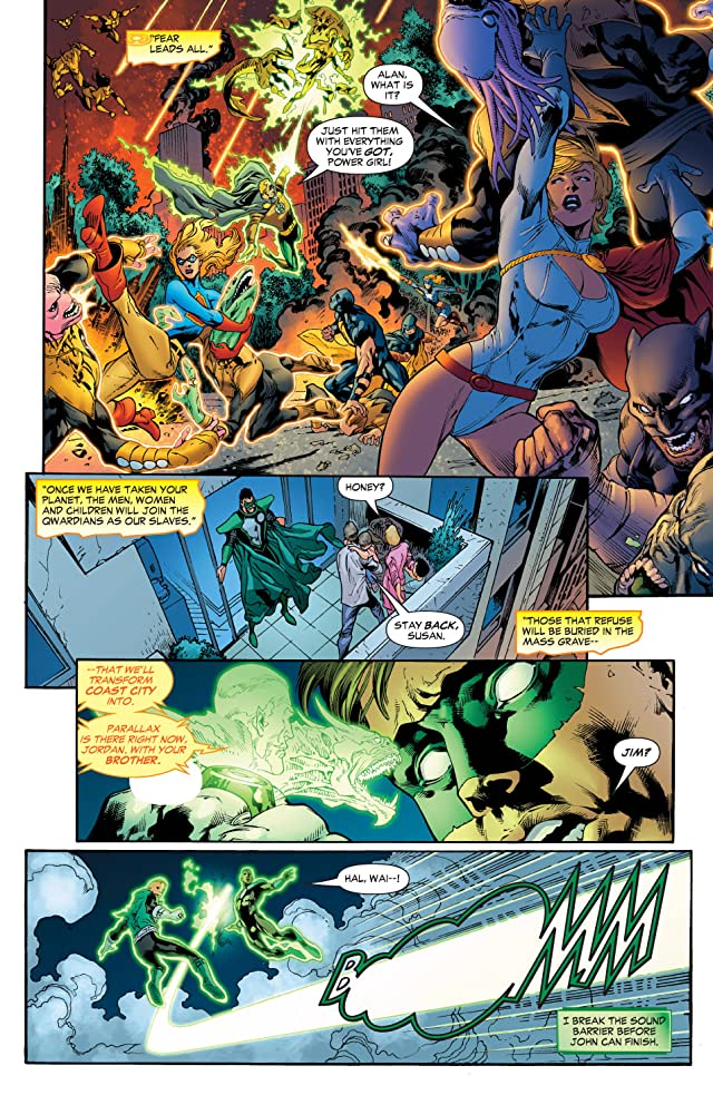 click for super-sized previews of Green Lantern (2005-2011) #24