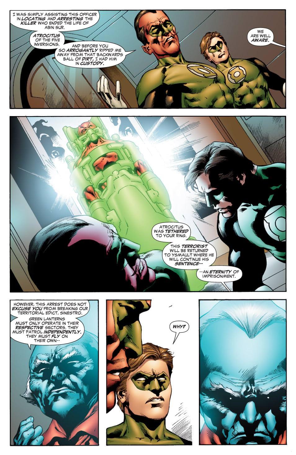 Green Lantern (2005-2011) #35