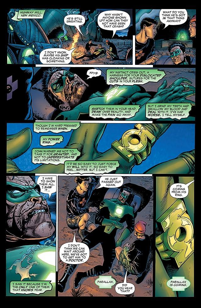 click for super-sized previews of Green Lantern: Rebirth #2