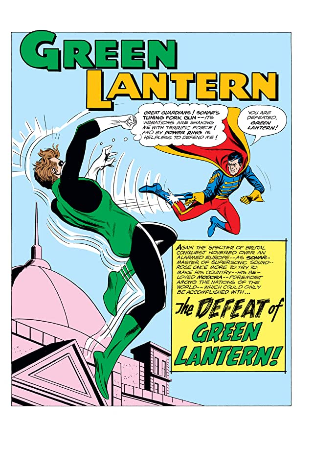 click for super-sized previews of Green Lantern (1960-1972) #19
