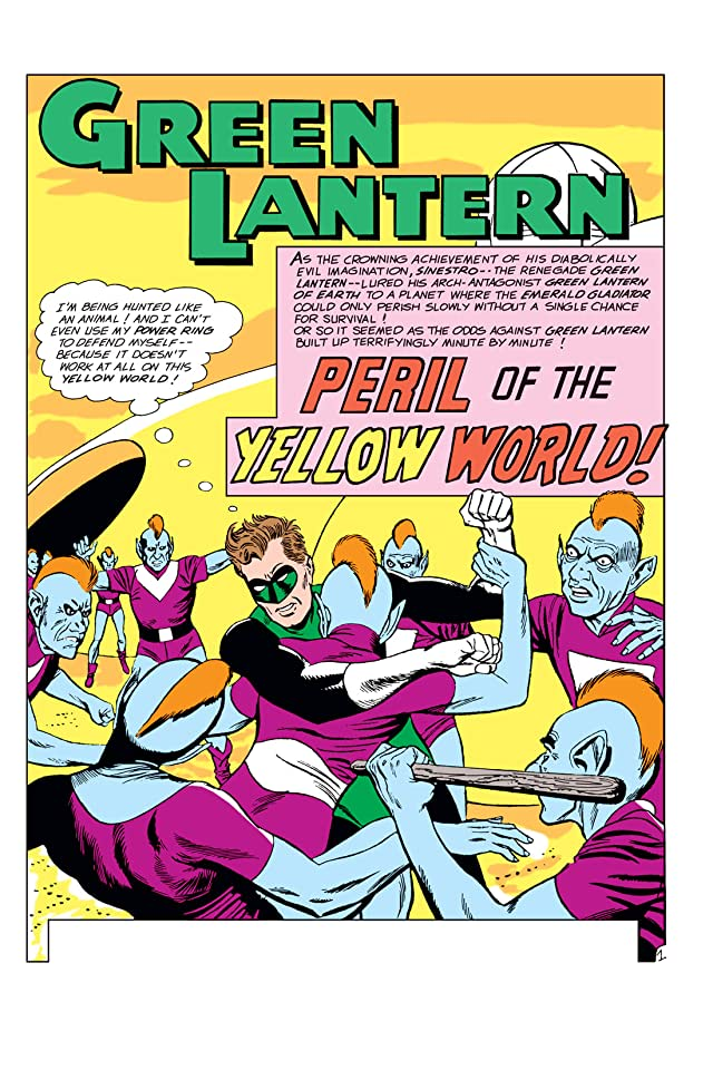 click for super-sized previews of Green Lantern (1960-1972) #15