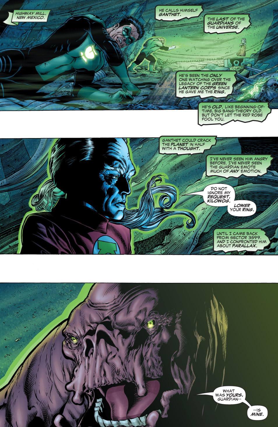 Green Lantern: Rebirth #3