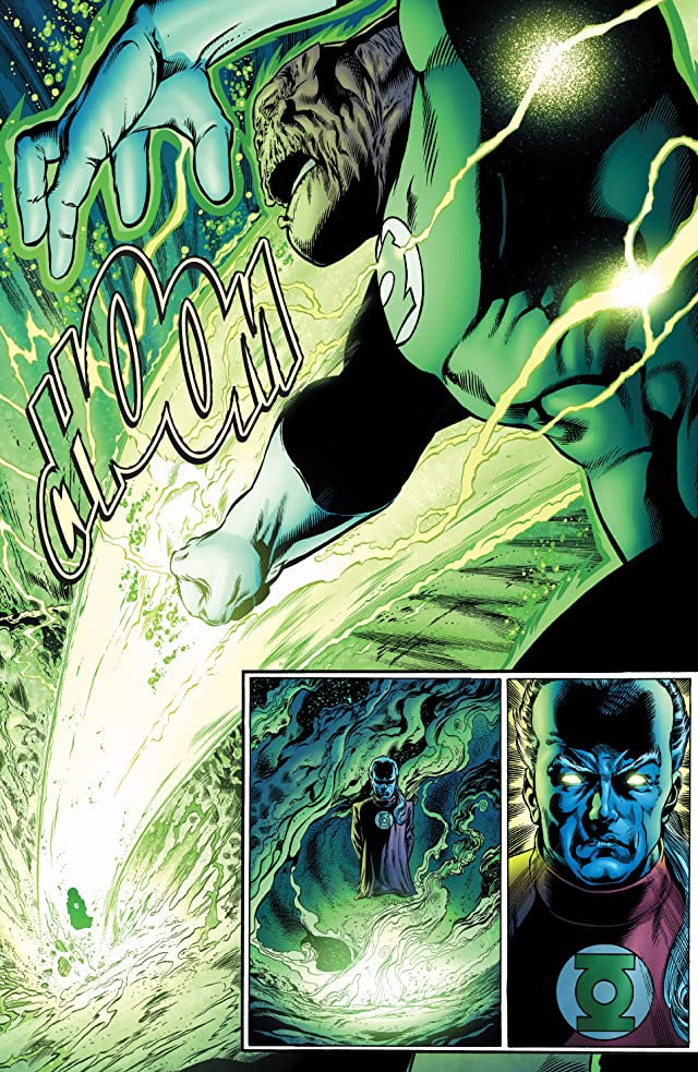 click for super-sized previews of Green Lantern: Rebirth #3