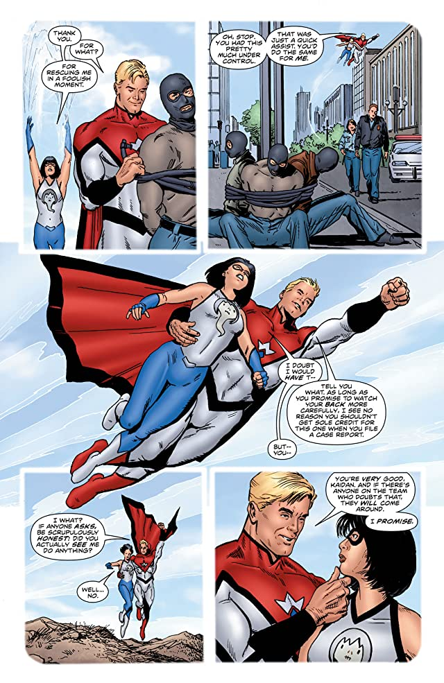 click for super-sized previews of Irredeemable #2