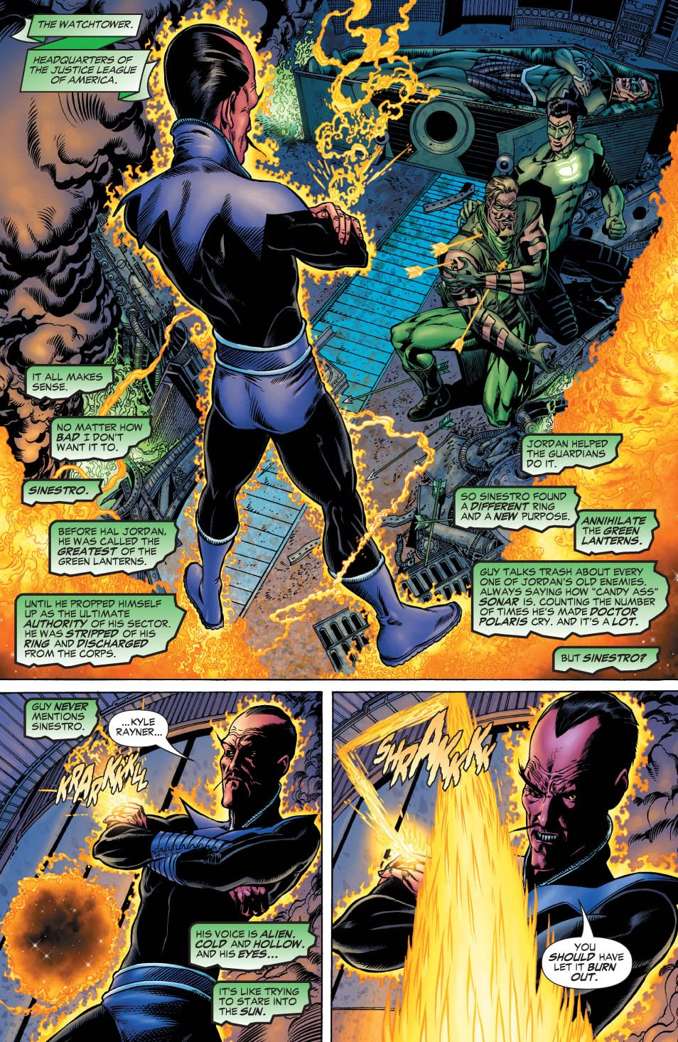 Green Lantern: Rebirth #4