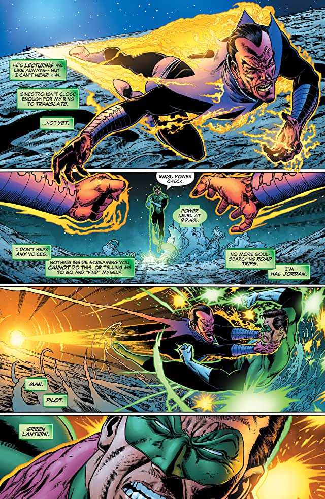 click for super-sized previews of Green Lantern: Rebirth #5