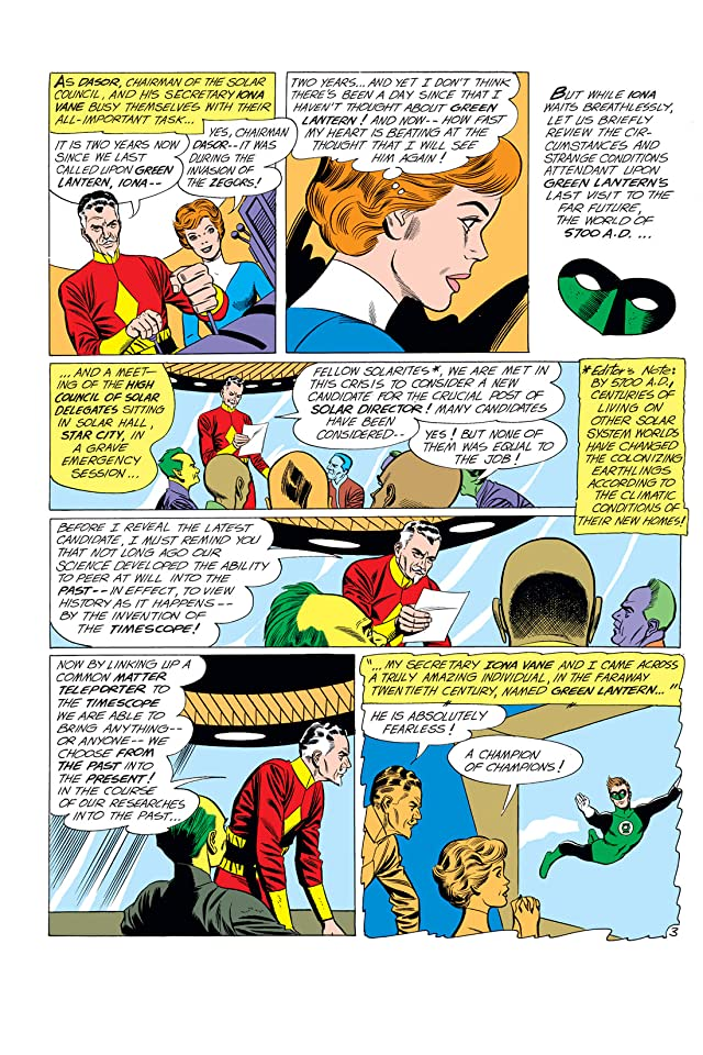 click for super-sized previews of Green Lantern (1960-1972) #12