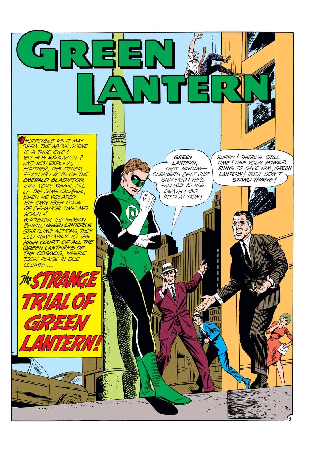 Green Lantern (1960-1972) #11