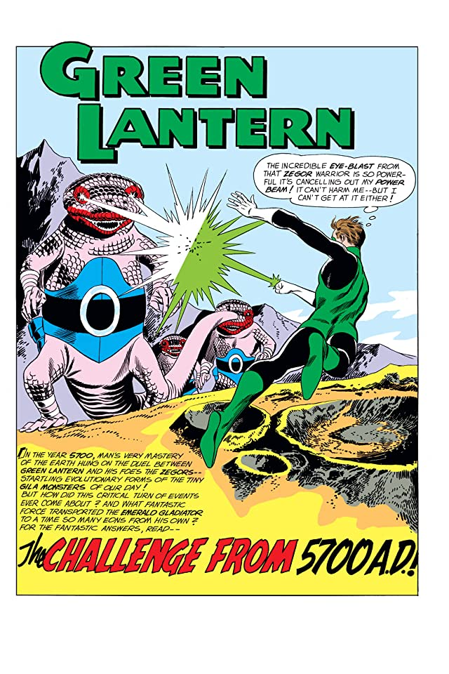 click for super-sized previews of Green Lantern (1960-1972) #8