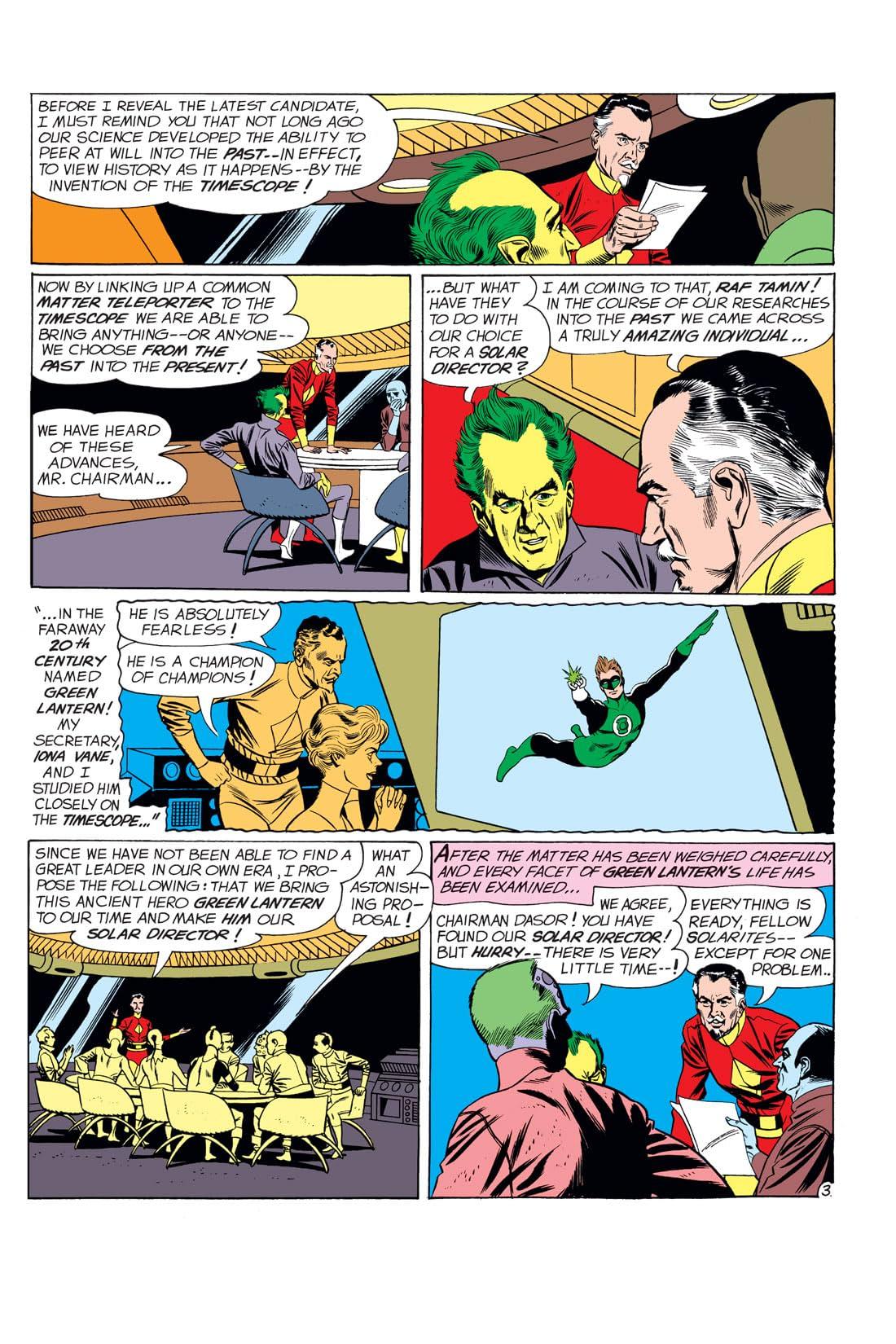 Green Lantern (1960-1972) #8