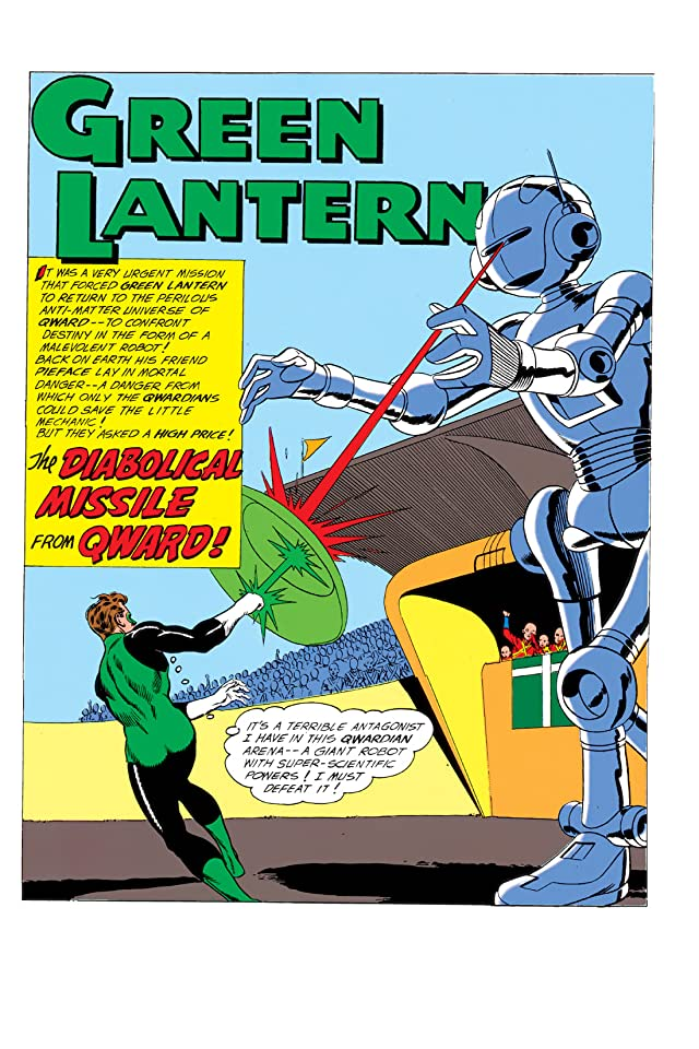 click for super-sized previews of Green Lantern (1960-1972) #4
