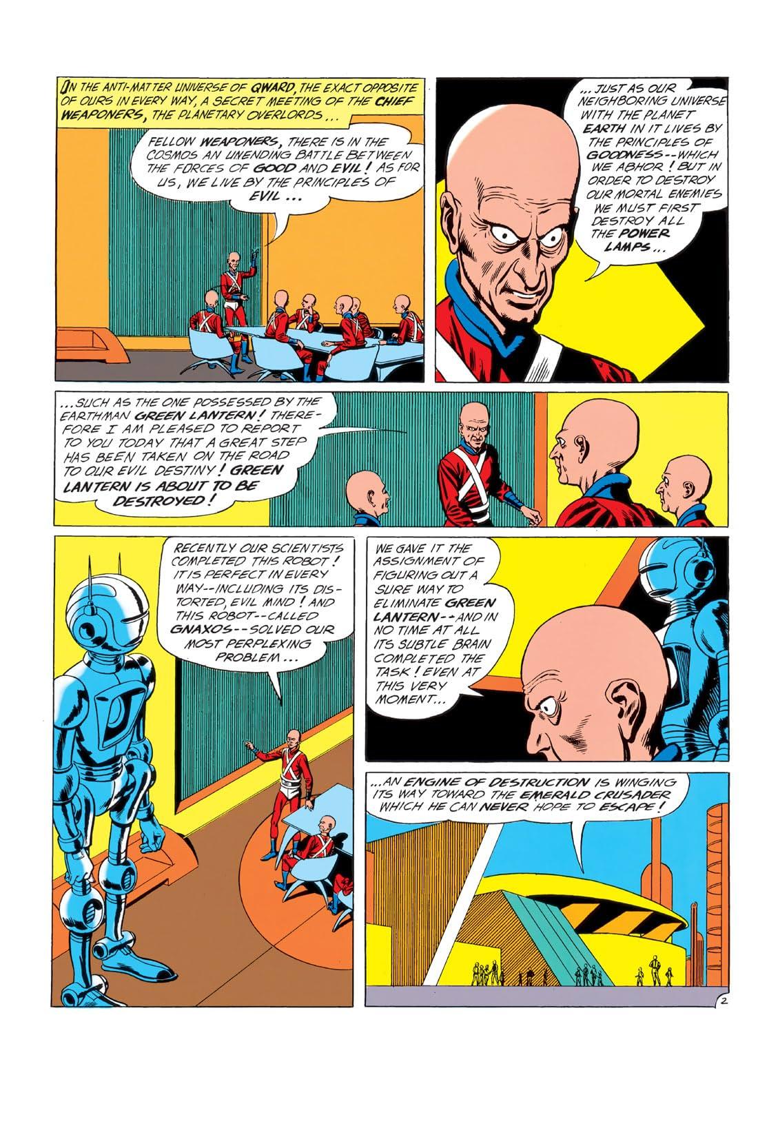 Green Lantern (1960-1972) #4