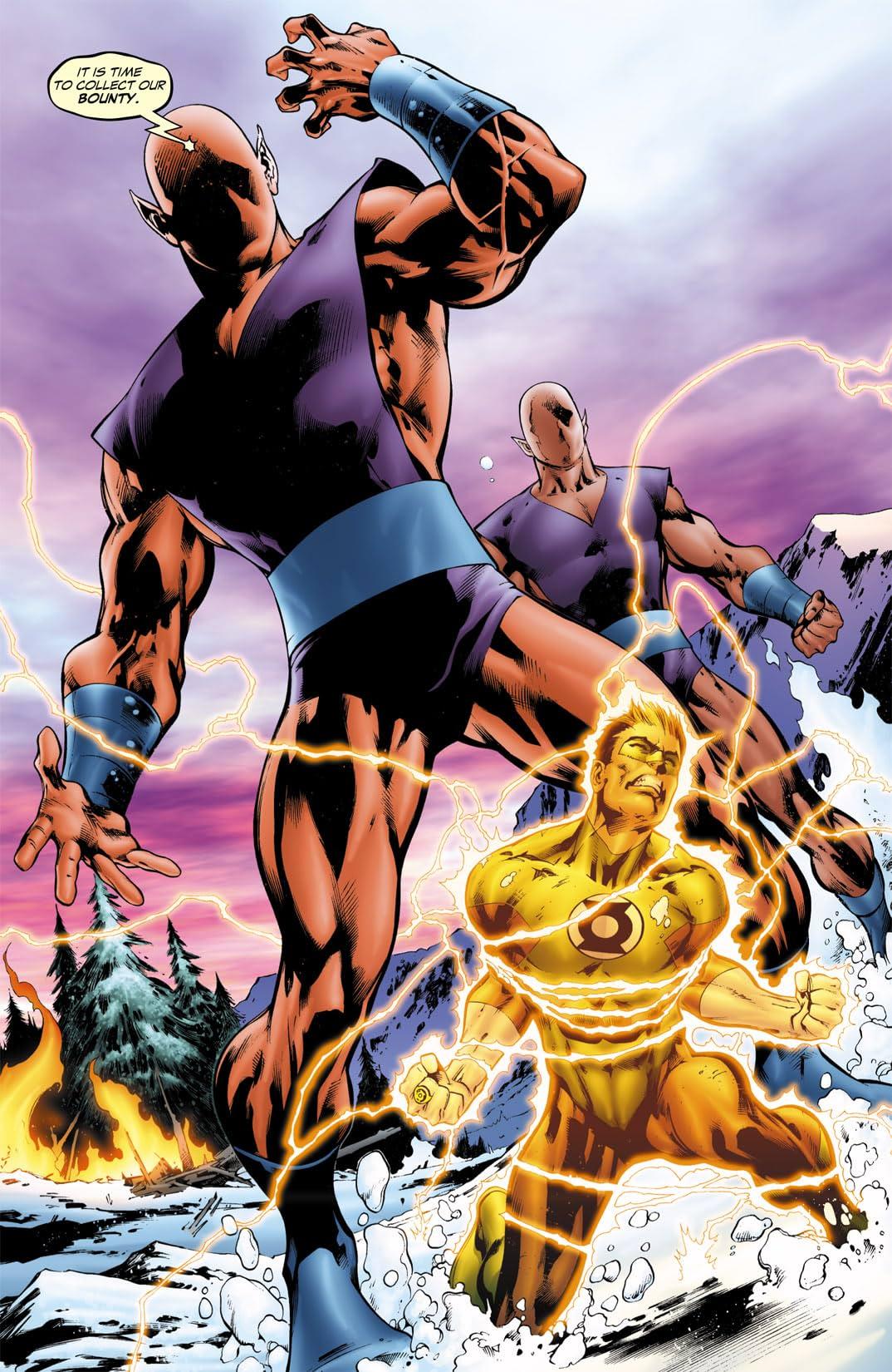 Green Lantern (2005-2011) #15
