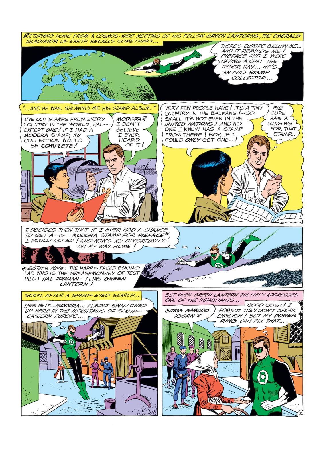 Green Lantern (1960-1972) #14