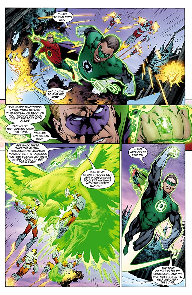 click for super-sized previews of Green Lantern (2005-2011) #16
