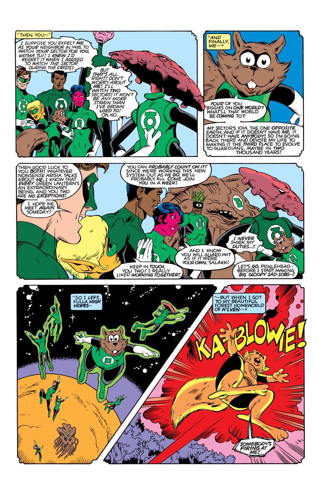 Green Lantern Corps (1986-1988) #201