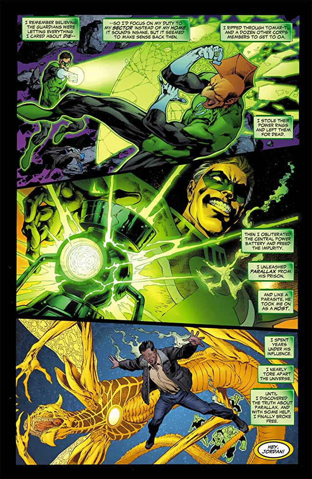 click for super-sized previews of Green Lantern (2005-2011) #11