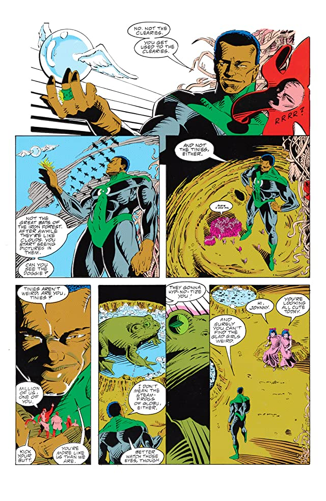 click for super-sized previews of Green Lantern: Mosaic #1