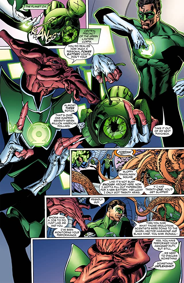 click for super-sized previews of Green Lantern (2005-2011) #9