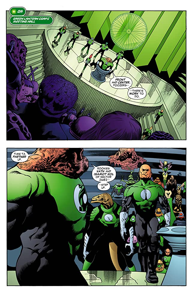click for super-sized previews of Green Lantern Corps: Recharge #2