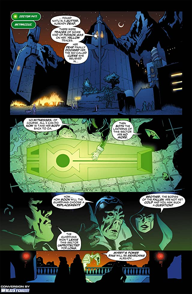click for super-sized previews of Green Lantern Corps (2006-2011) #3