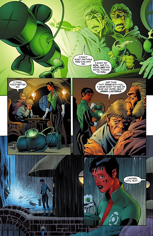 click for super-sized previews of Green Lantern Corps (2006-2011) #4