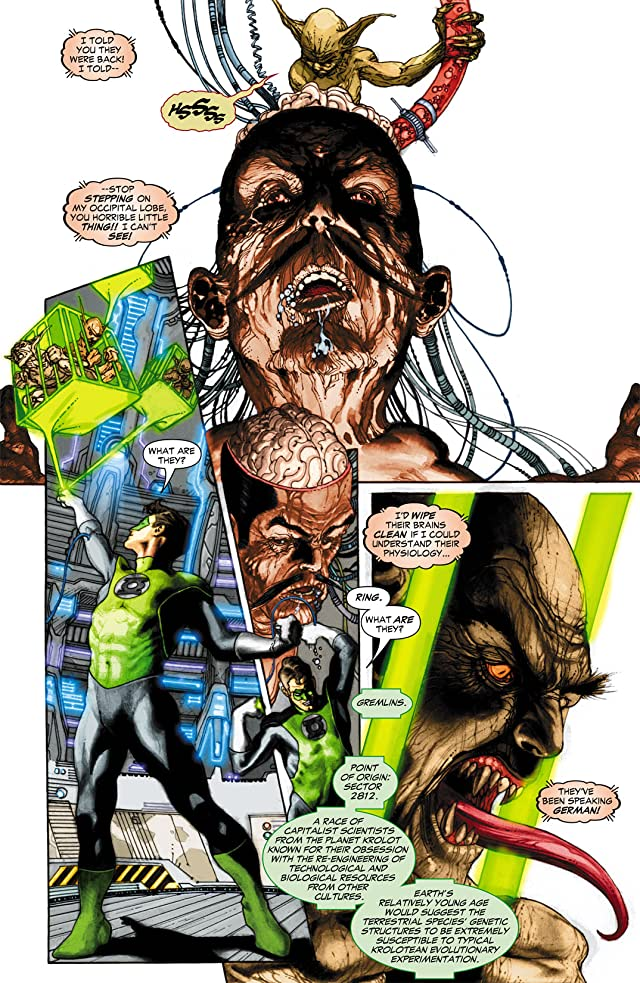 click for super-sized previews of Green Lantern (2005-2011) #6