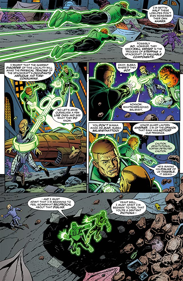 click for super-sized previews of Green Lantern Corps (2006-2011) #6