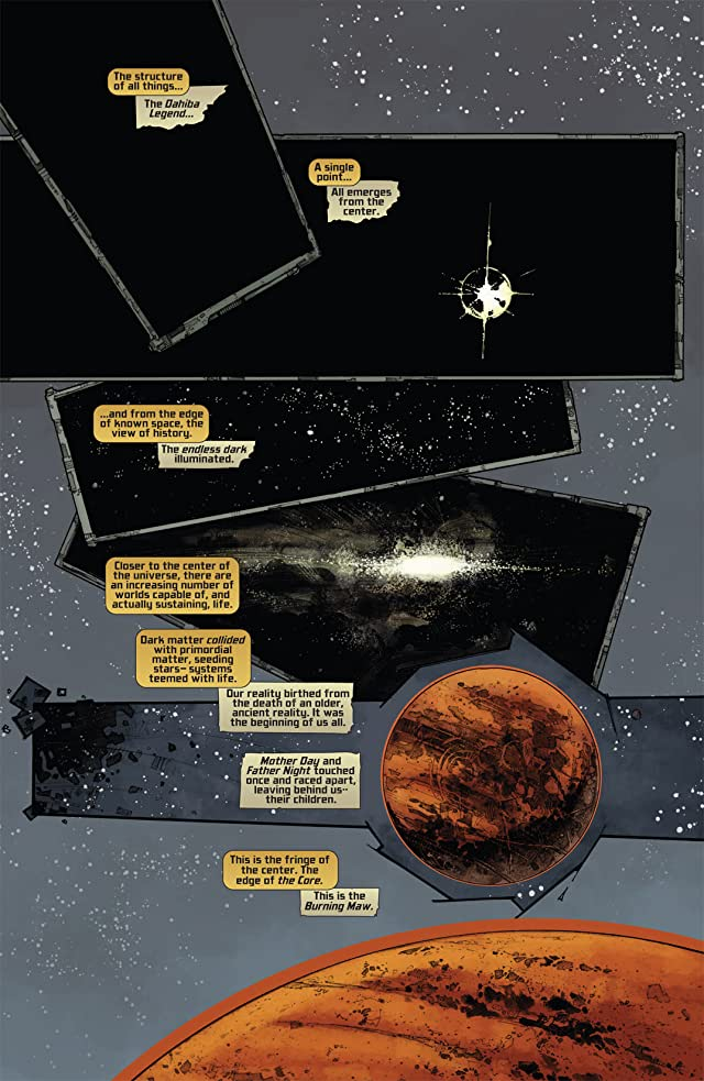 click for super-sized previews of Pilot Season: The Core #1