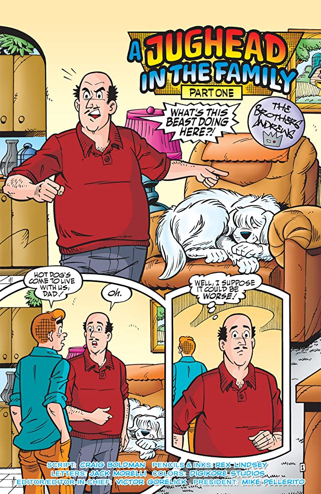 click for super-sized previews of Jughead #207