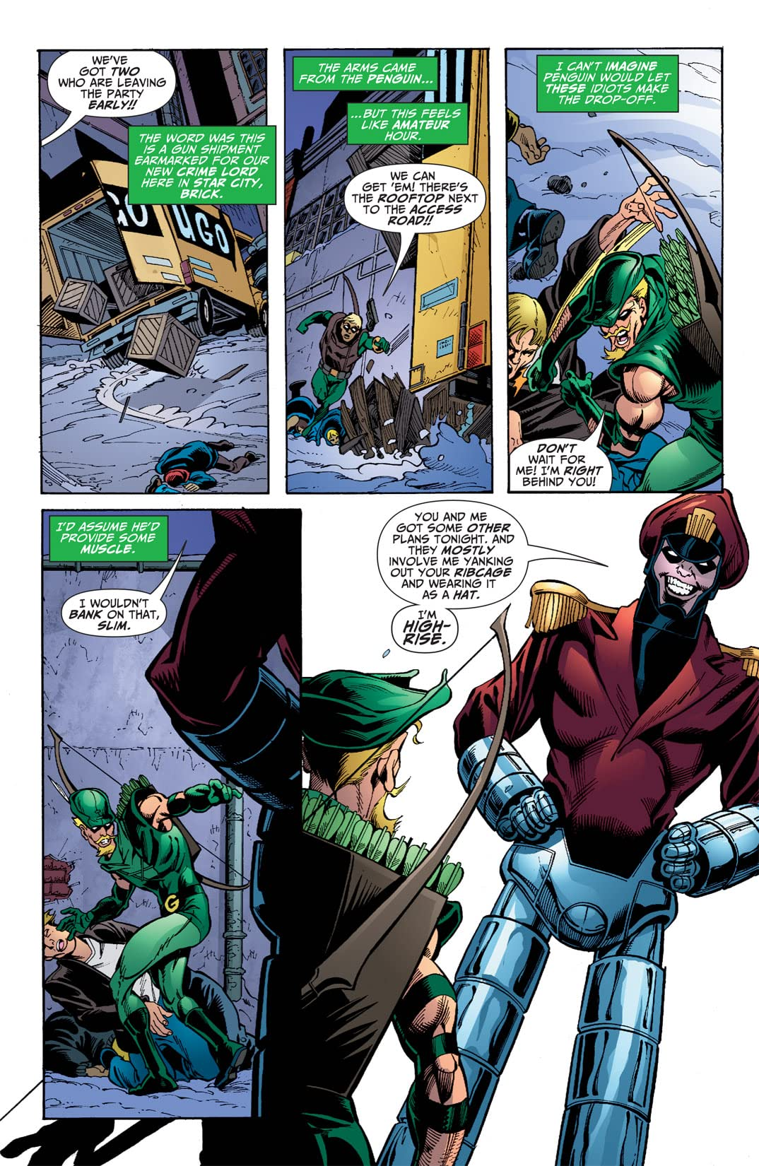 Green Arrow (2001-2007) #46