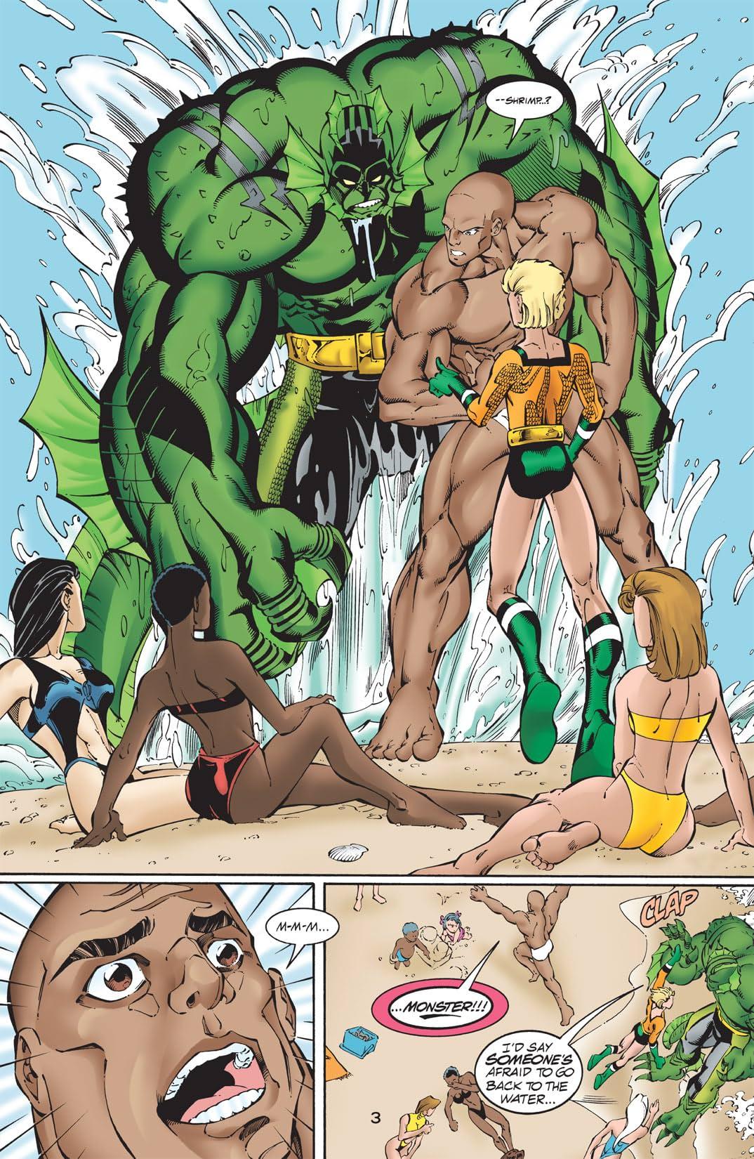 Sins of Youth: Aquaboy and Lagoon Man #1