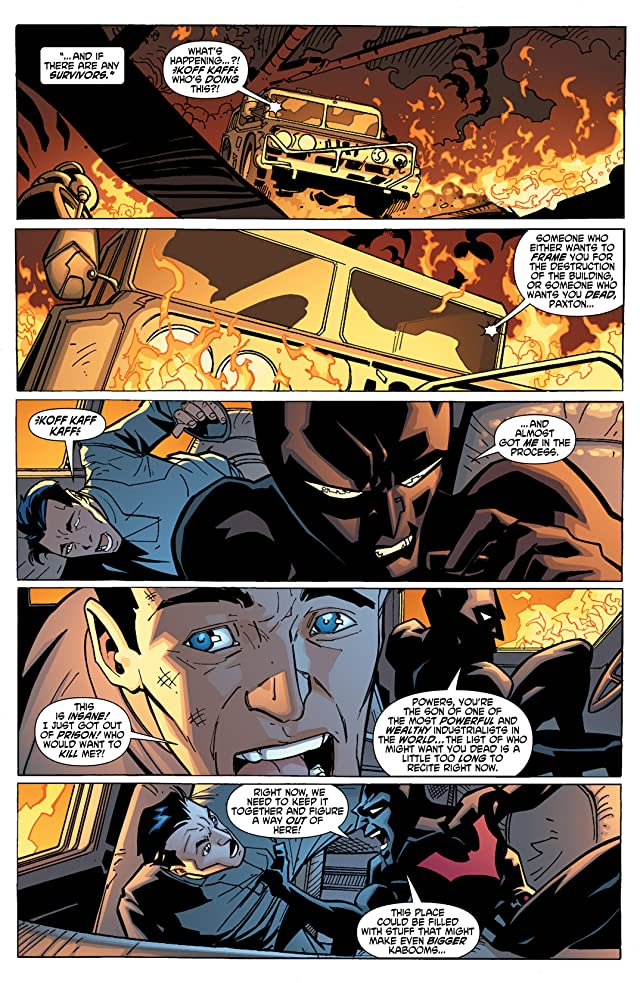 click for super-sized previews of Batman Beyond (2011) #6