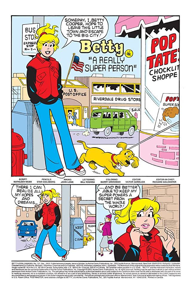 click for super-sized previews of Betty #131